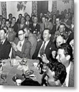 Stag Dinner And Awards Monterey Peninsula Country Club, Pebble Beach 1950 Metal Print