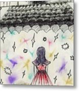Stage Fright Metal Print