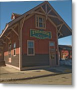 Stagecoach Transportation  Metal Print