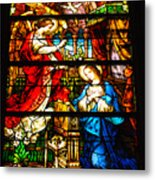 Stained Glass - Cape May Metal Print
