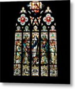 Stained Glass At St. John's Metal Print
