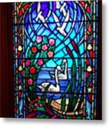 Stained Glass Beauty #20 Metal Print