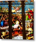Stained Glass Beauty #38 Metal Print