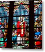 Stained Glass Beauty #39 Metal Print