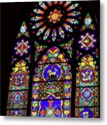 Stained Glass Beauty #46 Metal Print