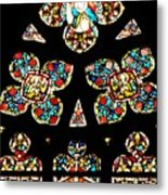 Stained Glass Glory Metal Print
