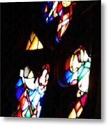 Stained Glass View Metal Print