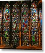 Stained Glass Window Christ Church Cathedral 2 Metal Print