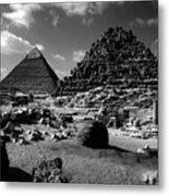Stair Stepped Pyramids Metal Print