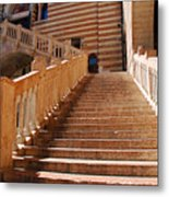 Staircase At Scala Della Ragione - Verona Italy Metal Print