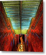Staircase Into Hell Metal Print