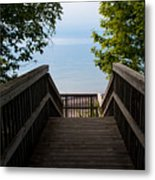 Staircase Of Tranquility Metal Print
