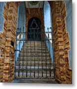 Stairs Beyond Metal Print