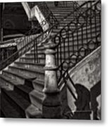 Stairs In The Markethall  Metal Print