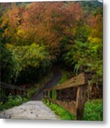 Stairs To The Graveyard Metal Print