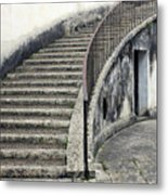 Stairs To Underground Metal Print