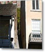 Stairs To Where Metal Print