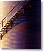 Stairway Abstraction Metal Print