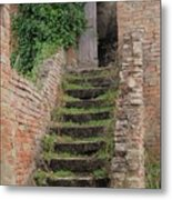 Stairway Less Traveled Metal Print