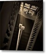 Stairway Light, Redstone Castle, Colorado Metal Print