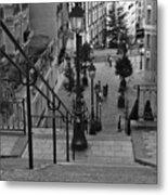 Stairway On Montmartre Metal Print