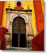 Stairway To The Cathedral Metal Print