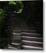 Stairway Watkins Glen 1  Metal Print by InTheSane DotCom