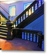 Stairwell Of Color Metal Print
