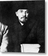 Stalin, Lenin & Trotsky Metal Print by Granger