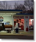 Standard Oil Museum After Dark 18 Metal Print
