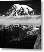 Standing In Awe Metal Print
