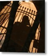 Standing In The Shadows Baby Metal Print