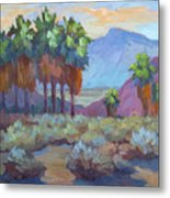 Standing Tall At Thousand Palms Metal Print