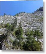 Standing Tall - The Bicaz Gorge Metal Print