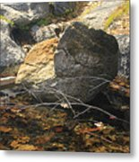 Stanislaus Rocks Spring Metal Print