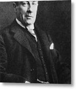 Stanley Baldwin, English Politician Metal Print by Photo Researchers