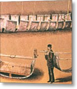 Stanleys Portable Boat Metal Print