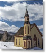 Stannard Church Metal Print