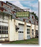 Stans Motor Service Garage Metal Print