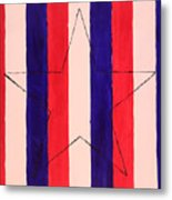 Star And Stripes Metal Print