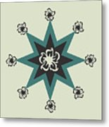 Star Flower - The Light Side Metal Print