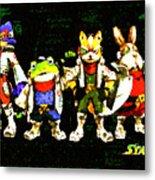 Star Fox Zero Metal Print