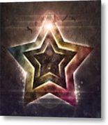 Star Lights Metal Print