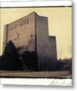 Star-lite Drive-in Metal Print