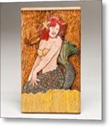 Star Mermaid Metal Print