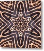 Star Of Cheetah Metal Print