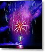 Star Of The Night Metal Print