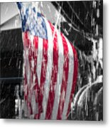 Star Spangled Splash  Metal Print