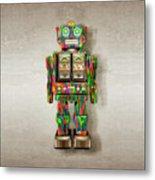 Star Strider Robot Psyc Metal Print