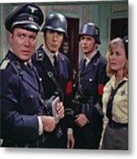 Star Trek Patterns Of Force Episode Publicity Photo Number Two 1968 Metal Print